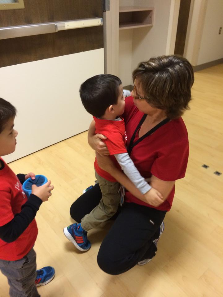Nurses week - Nurse Karen with Elaine's boys