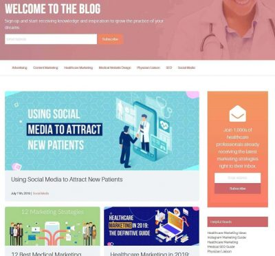 Intrepy healthcare marketing blog
