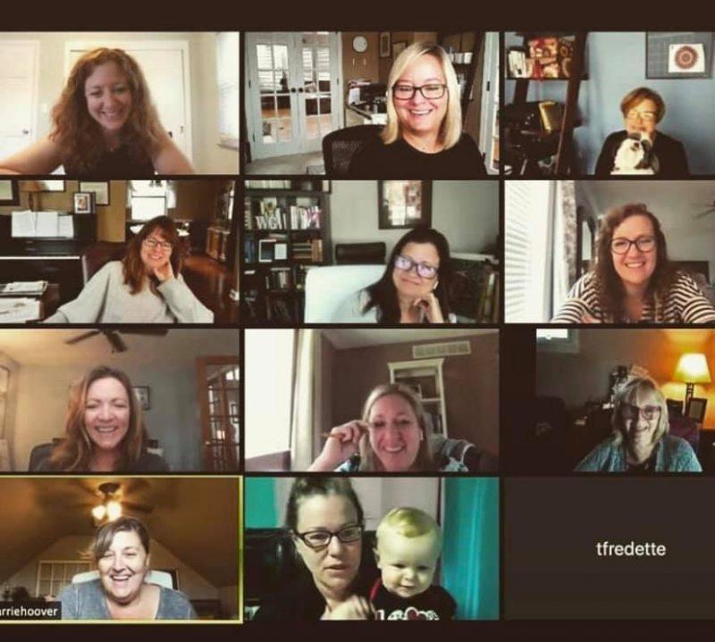 WriterGirl Zoom meeting