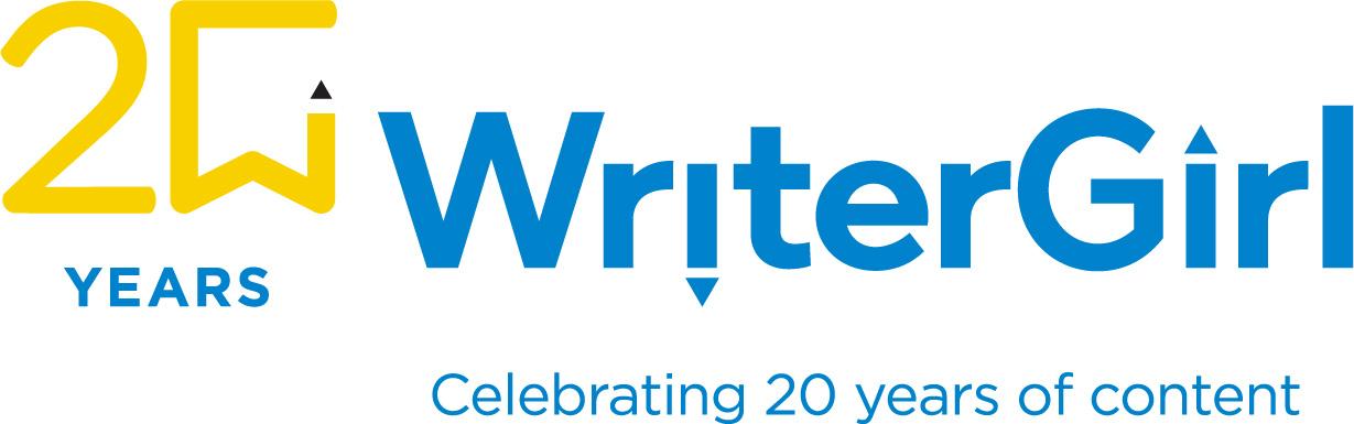 20 years of WriterGirl logo