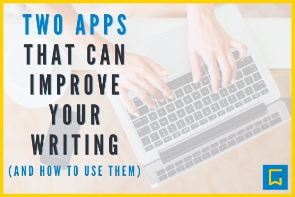 Two apps that can improve your writing blog image