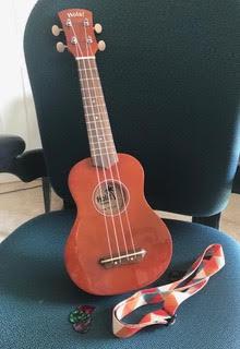 Carol's ukulele