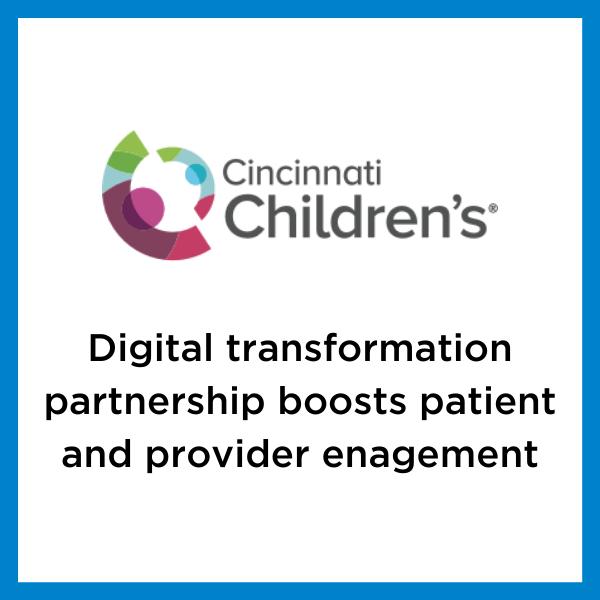 Cincinnati Children's case study feature image